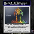 Iron Giant Decal Sticker Sparkle Glitter Vinyl Sparkle Glitter 120x120