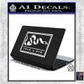 Join Or Die Flag Decal Sticker D1 Benjamin Franklin White Vinyl Laptop 120x120