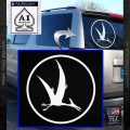Jurassic Park Pterodactyl Decal Sticker White Vinyl Emblem 120x120