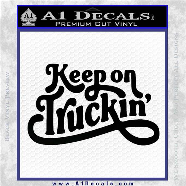 Keep On Truckin Font Keyboard