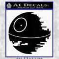 Killer Satellite Decal Sticker V1 Black Vinyl Logo Emblem 120x120