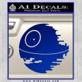 Killer Satellite Decal Sticker V1 Blue Vinyl 120x120