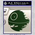 Killer Satellite Decal Sticker V1 Dark Green Vinyl 120x120