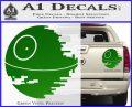 Killer Satellite Decal Sticker V1 Green Vinyl 120x97