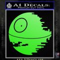 Killer Satellite Decal Sticker V1 Lime Green Vinyl 120x120