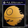 Killer Satellite Decal Sticker V1 Metallic Gold Vinyl 120x120
