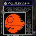 Killer Satellite Decal Sticker V1 Orange Vinyl Emblem 120x120