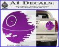 Killer Satellite Decal Sticker V1 Purple Vinyl 120x97