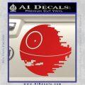 Killer Satellite Decal Sticker V1 Red Vinyl 120x120