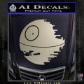 Killer Satellite Decal Sticker V1 Silver Vinyl 120x120