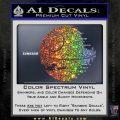 Killer Satellite Decal Sticker V1 Sparkle Glitter Vinyl Sparkle Glitter 120x120