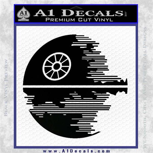 Killer Satellite Decal Sticker V2 Black Vinyl Logo Emblem