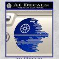 Killer Satellite Decal Sticker V2 Blue Vinyl 120x120