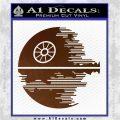 Killer Satellite Decal Sticker V2 Brown Vinyl 120x120