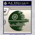 Killer Satellite Decal Sticker V2 Dark Green Vinyl 120x120