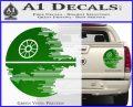 Killer Satellite Decal Sticker V2 Green Vinyl 120x97
