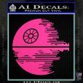 Killer Satellite Decal Sticker V2 Hot Pink Vinyl 120x120