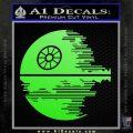 Killer Satellite Decal Sticker V2 Lime Green Vinyl 120x120