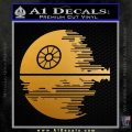 Killer Satellite Decal Sticker V2 Metallic Gold Vinyl 120x120