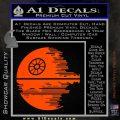 Killer Satellite Decal Sticker V2 Orange Vinyl Emblem 120x120