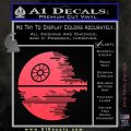 Killer Satellite Decal Sticker V2 Pink Vinyl Emblem 120x120