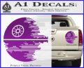 Killer Satellite Decal Sticker V2 Purple Vinyl 120x97