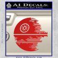 Killer Satellite Decal Sticker V2 Red Vinyl 120x120