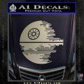Killer Satellite Decal Sticker V2 Silver Vinyl 120x120