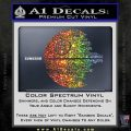 Killer Satellite Decal Sticker V2 Sparkle Glitter Vinyl Sparkle Glitter 120x120