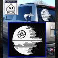 Killer Satellite Decal Sticker V2 White Vinyl Emblem 120x120