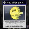Killer Satellite Decal Sticker V2 Yellow Vinyl 120x120