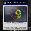 Killer Satellite Spaceship DTFs Decal Sticker Sparkle Glitter Vinyl Sparkle Glitter 120x120