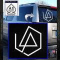 Linkin Park Missing 1 Side Decal Sticker White Vinyl Emblem 120x120