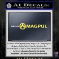 Magpul Firearms DW Decal Sticker Yellow Vinyl 120x120