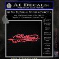 Mathews Archery Split Decal Sticker Pink Vinyl Emblem 120x120