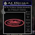 Mathews Solocam Archery Decal Sticker Pink Vinyl Emblem 120x120