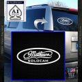 Mathews Solocam Archery Decal Sticker White Vinyl Emblem 120x120