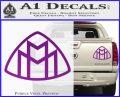 Maybach Motors Logo Decal Sticker Purple Vinyl 120x97