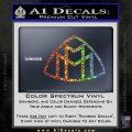 Maybach Motors Logo Decal Sticker Sparkle Glitter Vinyl Sparkle Glitter 120x120