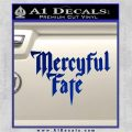 Mercyful Fate Decal Sticker Blue Vinyl 120x120