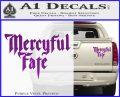 Mercyful Fate Decal Sticker Purple Vinyl 120x97