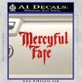 Mercyful Fate Decal Sticker Red Vinyl 120x120