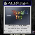 Mercyful Fate Decal Sticker Sparkle Glitter Vinyl Sparkle Glitter 120x120