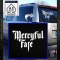 Mercyful Fate Decal Sticker White Vinyl Emblem 120x120