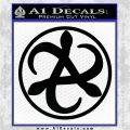 Mortal Engines Medusa Decal Sticker Quantum Energy Weapon Black Vinyl Logo Emblem 120x120