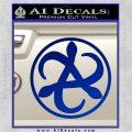 Mortal Engines Medusa Decal Sticker Quantum Energy Weapon Blue Vinyl 120x120