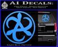 Mortal Engines Medusa Decal Sticker Quantum Energy Weapon Light Blue Vinyl 120x97