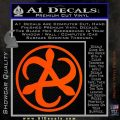 Mortal Engines Medusa Decal Sticker Quantum Energy Weapon Orange Vinyl Emblem 120x120