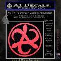 Mortal Engines Medusa Decal Sticker Quantum Energy Weapon Pink Vinyl Emblem 120x120
