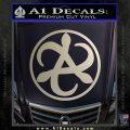 Mortal Engines Medusa Decal Sticker Quantum Energy Weapon Silver Vinyl 120x120